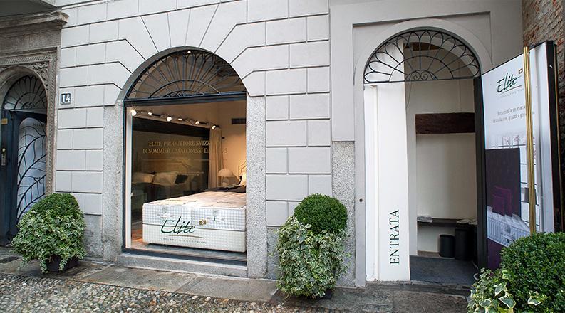 Elite Gallery Milano, vasta scelta di boxspring, materassi, letti