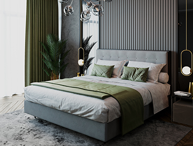 Contemporary Bed Chloé