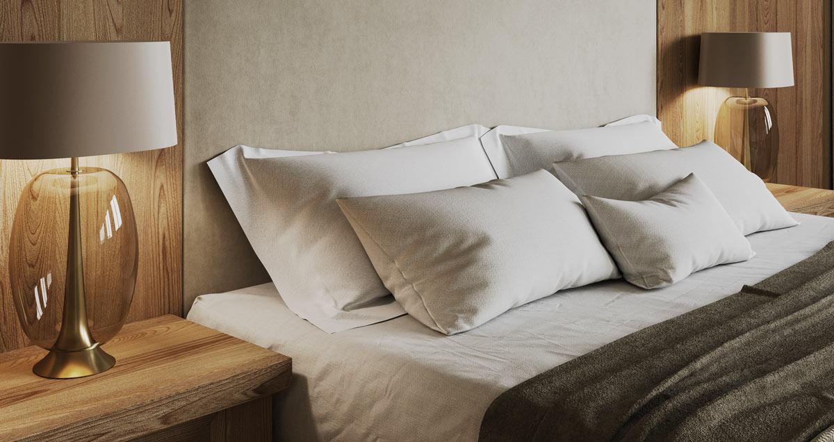 Кровать в стиле Этно - Edelweiss