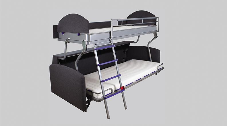 Canapé-lit superposé