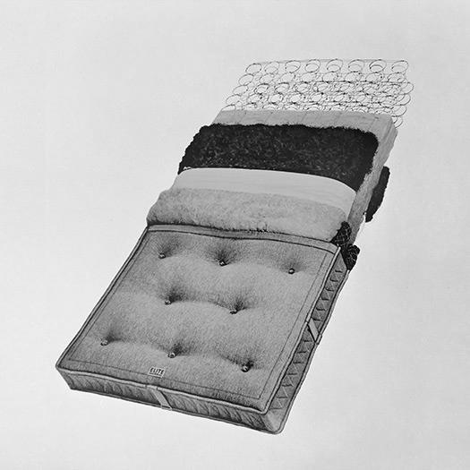 Elite History: The Beginnings Of The Spring Mattress in 1946